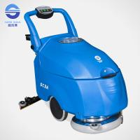 China Blue Hand Push Floor Polishing Machine Concrete Floor Scrubber wholesale
