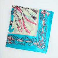 China China Blue Headscarf for Neckwear or Head Digital Printing wholesale