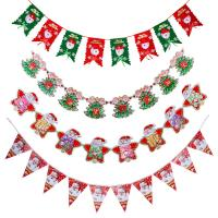 Quality Customized Waterproof Advertising Flag Banners , Christmas Create Custom Flag for sale