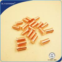 China 4.8 Grade Capacitor Discharge Studs , Welded Threaded Studs Carbon Steel Material wholesale