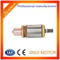 China JINLE 100% Copper Wire 24 Volt Starter Motor Armature / Starter Motor Assembly on sale