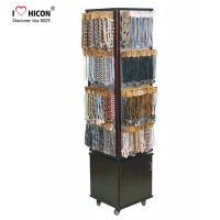 China Custom Floor Fine Boutique Jewelry Displays And Supplies With Caster wholesale
