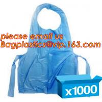 China Disposable aprons, plastic apron, disposable, aprons, LDPE apron, HDPE apron, PE apron wholesale
