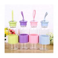 Buy cheap Wholesale 500ML Portable glass water bottle from wholesalers
