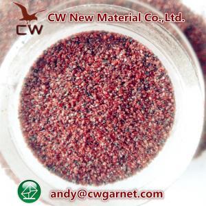 China Blasting abrasive garnet sand wholesale