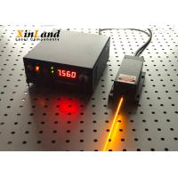 China 589nm High Output Solid State Laser , Yellow Light Source DPSS Laser Module wholesale