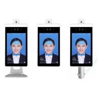 China Non Contact 8 Inch Facial Recognition Time Attendance System wholesale