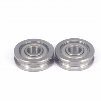 China 4x13x4mm Carbon Steel U604ZZ U Groove Pulley Wheels For 3D Printer wholesale