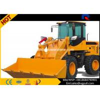 China Mini Front Loader Construction Equipment Dumping Height 3.05M wholesale
