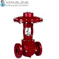 China High Pressure Pneumatic Actuator , Cage Guided Balanced Pneumatic Rotary Actuator on sale