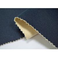 China 24 OZ Blue Color Coated Cotton Canvas / 100 Cotton Canvas For Bags wholesale