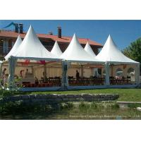 China European  Style Pagoda Marquee Tents , Outdoor Wedding Tent 5m By 5m wholesale