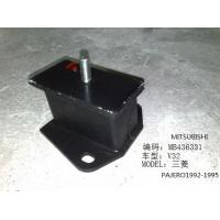 China auto Mitsubishi Auto Body Parts Front Metal / Rubber Car Engine mount wholesale