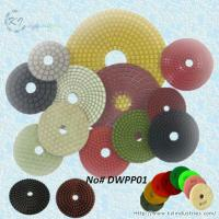 China Wet Polishing Pads for Granite and Marble (Diamond Grits# 50 ~ Buff) wholesale
