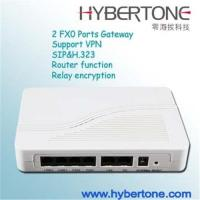 China 2 FXO  port  VOIP gateway on sale