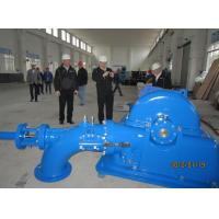 China Hydropower Project Turgo Turbine Stainless Steel 750r / Min 0.24 M³/S Discharge wholesale