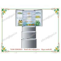 China OP-518 Stainless Steel Electricity Power Source No Frost French Doors Refrigerator wholesale