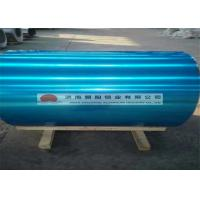 China Decoration E3 Embossed Aluminum Sheet / Aluminium Coil With Blue Film 0.8 - 10.0 mm wholesale