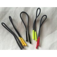 China Colorful Silicon Rubber Zipper Puller With 2mm Polyester Elastic Cord on sale