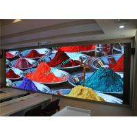 China P3 P4 P5 P6 Indoor Led Fixed Screen , Led Video Wall Display High Contrast Ratio wholesale
