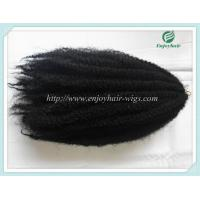 Quality Japanese kanekalon synthetic mary braid hair extension afro kinky hair1#color  16''-22''. for sale
