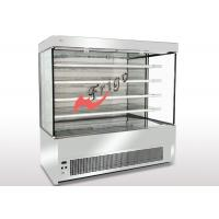 Buy cheap Stanless Steel Open Display Cases , Upright Open Chiller Supermarket Showcase from wholesalers