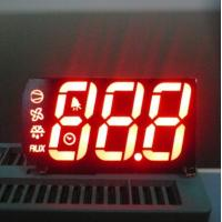 Quality High Brightness Multi color 7 Segment Display Triple Digit for Refrigerator Indicator for sale