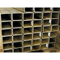 China ASTM A500 Carbon Steel Rectangular Steel Pipe / Square Section Steel Tube wholesale