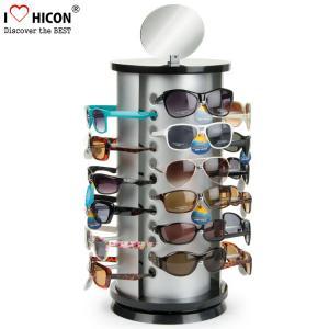 China Counter Top Sunglasses Display Rack Rotating 24 Pairs Rayban Sunglass Display Stand wholesale