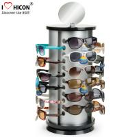 Buy cheap Counter Top Sunglasses Display Case Round Shape Metal Eyeglass Display Rods from wholesalers