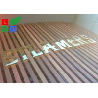 China AC 100 - 245V LED Channel Letter Signs Energy Saving For Decoration Signature wholesale