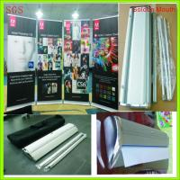 Quality Trade Show Retractable Display Banners , Table Top Retractable Banners 80*200cm for sale