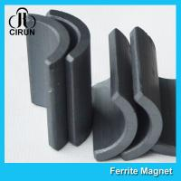 China Y30 Grade Permanent Ferrite Arc Magnet For DC Motor Multipurpose Use wholesale