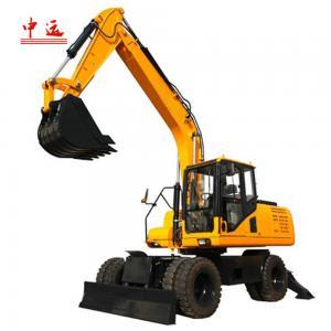 China JHL135 13.5 Ton Wheeled Excavator wholesale