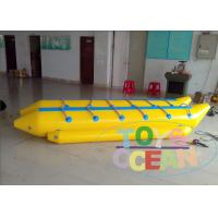 China Customized Exciting Inflatable Flying Fish Tube Towable Banana Boat For Adults wholesale