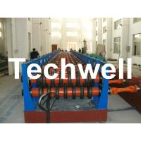 China 180KW Silo Steel Corrugated Panel Roll Forming Machine For Silo Side Panel TW-SILO wholesale