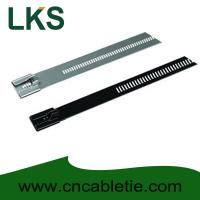 China PVC coated Ladder Type Stainless Steel Cable Ties wholesale