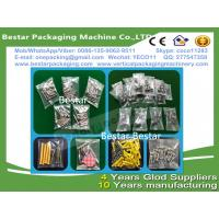 China High efficiency Stainless steel 304 Fastener pouch making machine, Fastener weighting and packing machine wholesale