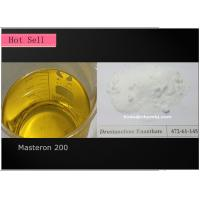 China Injectable Yellow Steroids Oil Drostanolone Enanthate / Masteron 200 on sale