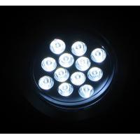 Quality Color Changing 36W / 12 x 3W Aluminum LED Downlight Fixtures Lifespan Lifespan for sale