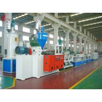 China Hydraulic net changer PET Strap Production Line 150KW 60 - 70kg/h wholesale