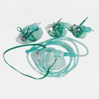 China Green PVC Medical Simple Oxygen Facial Mask With 2m Tube For Adult, Pediatric, Infant  WL1001 on sale