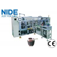 China Conveyor type automatic stator coil lacing machine  with Four station wholesale