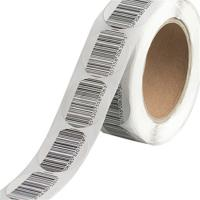 China EAS Soft Security Tags For Retail Stores / Alarming System Direct Thermal Sew In Tag wholesale
