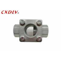 """China Plain Threaded 3/4"""" Flow Indicator PN16 Flanged Sight Glass wholesale"""