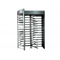 China Stainless Steel Full Height Turnstile Automatic Security Tri-Channnel Turnstile Gate wholesale