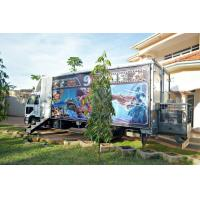 China 12 Special Effects Motion 5D Mobile Cinema , Outdoor Mobile Truck Cinema Black 6 Seats wholesale