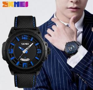 China Wholesale Retail Skmei Fashion Sports Watches Nylon Band Waterproof 30m Men Quartz Watches  9170 wholesale