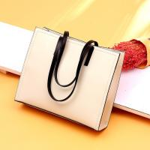 China Simple design leather bag handmade ladies handbags tote bags popular european tote bag wholesale