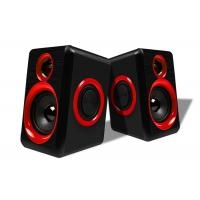 China USB Connecting 2.0 PC Speakers For Music / Gaming / Movies Easy Operation wholesale